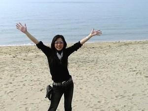 志賀島の海と零